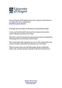 Masters thesis company fpga
